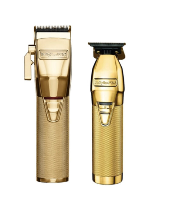 Babylisspro 2pc GoldFX Combo by IBS - FX Clipper, FX Trimmer