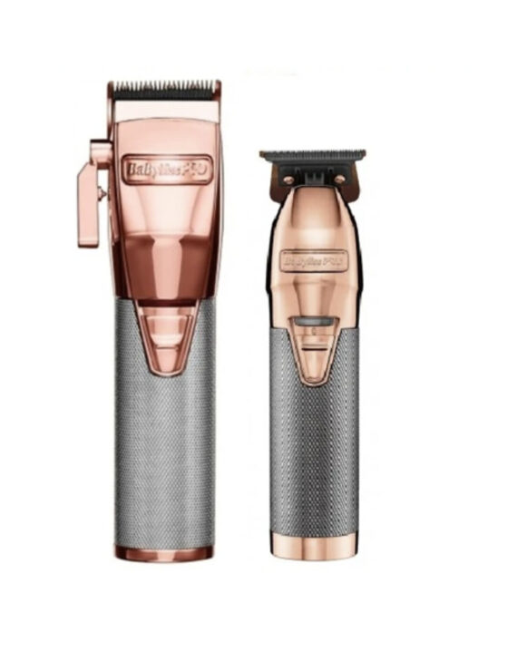 Babylisspro 2pc RoseGoldFX Combo by IBS - FX Clipper, FX Trimmer