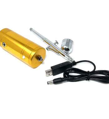 Cordless Airbrush System Compressor - Gold