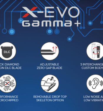 Gamma+ X-EVO Linear Magnetic Cordless Trimmer