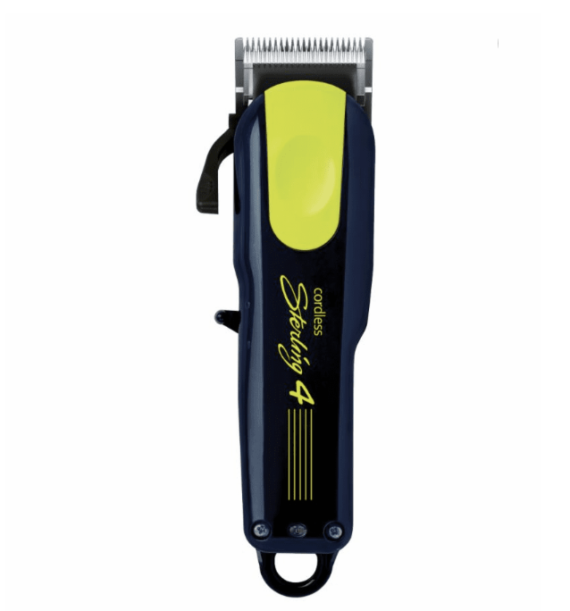 WAHL LIMITED EDITION STERLING 4 CORDLESS Li CLIPPER - DARK NAVY BLUE AND YELLOW