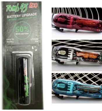 Tomb45 Eco Battery Upgrade For WAHL Cordless Clippers with a Free Transparent Lid