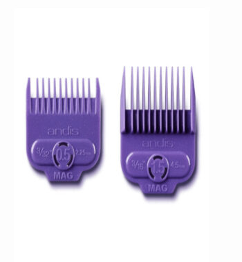Andis master Single magnetic comb set 0.5 and 1.5 #66560