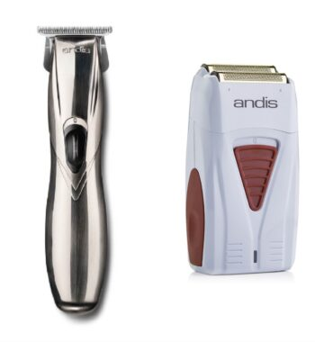 Andis 2pc Cordless Combo c by ibs - Cordless Slimline GTX, Cordless Foil Shaver