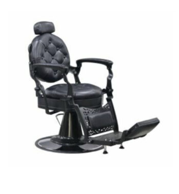 AYC MADISON BARBER CHAIR II All Black