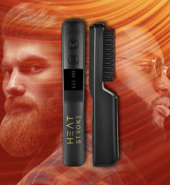 StyleCraft S|C Heat Stroke Wireless Hot Beard Brush