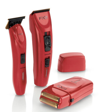 Babylisspro Red FX3 Collection Combo - (Clipper, Trimmer, Shaver)