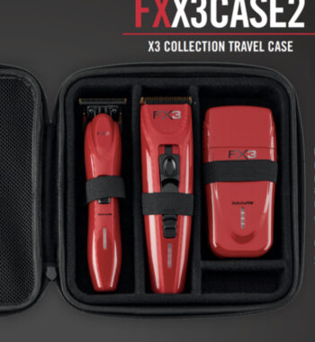 Babylisspro Red FX3 Collection Clipper, Trimmer, Shaver - comes with a travel case