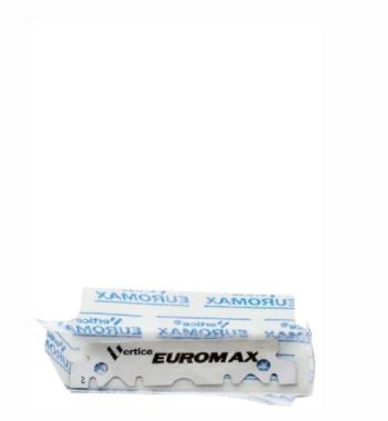 EUROMAX ''Cryo'' Sputtered Platinum Blade 100 single Edge blades - PRE CUT