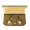 BaBylissPRO Fx3 Trimmer DLC Titanium Ultra-Thin Zero Gap Replacement Blade FX703G