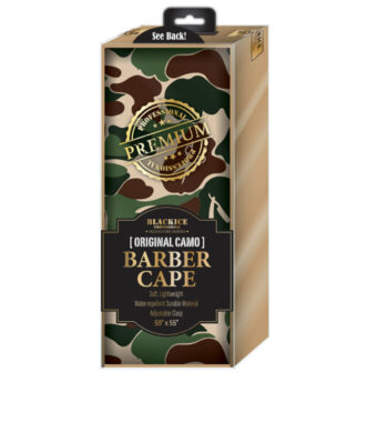 BlackIce CAMO Barber Cape #bve009CAM